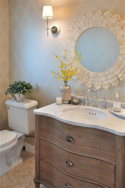 Ideas For Bathrooms Remodelling arcadia french country traditional powder room