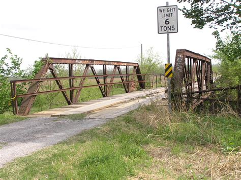 Rogers County Records Unnamed Creek Bridge Rogers County