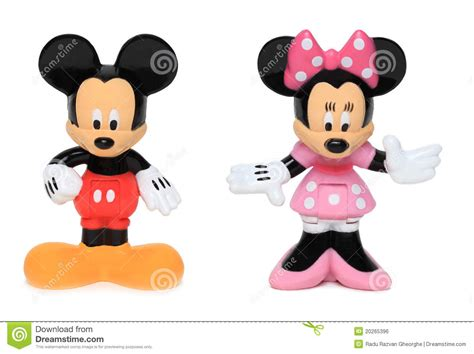 Celengan Minnie Dan Mickey Mouse Mouse Di Minnie E Di Mickey Fotografia Editoriale
