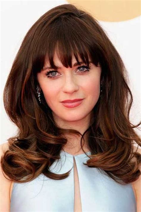 25 hairstyles with bangs 2015 2016 hairstyles 25 brunette hairstyles 2015 2016 hairstyles