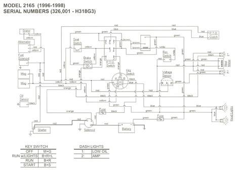 original cub cadet lxt 1050 wiring diagram original