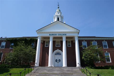 Babson College Mba Deadlines by Babson College Admissions Sat Scores Costs And More