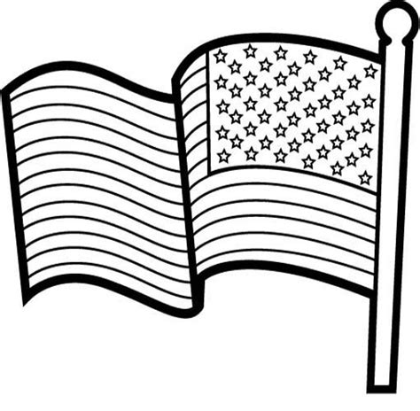 free american flag template coloring pages