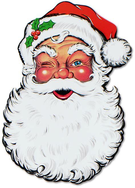 santa s santa face cartoon cliparts co