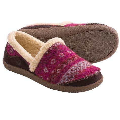 moc slippers acorn crosslander moc slippers for save 35
