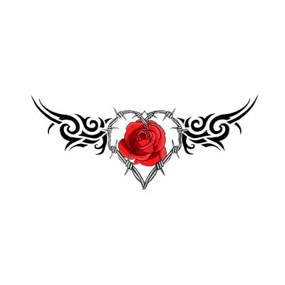 tattoo heart png eagle tattoo transparent png stickpng