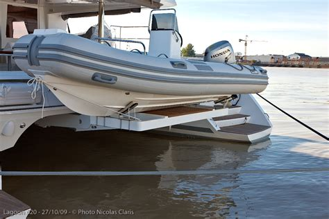 catamaran yacht tender how to choose your car lagoon inside