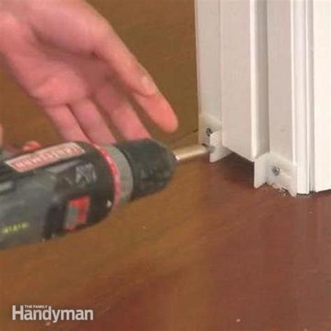 how to remove a pocket door the family handyman