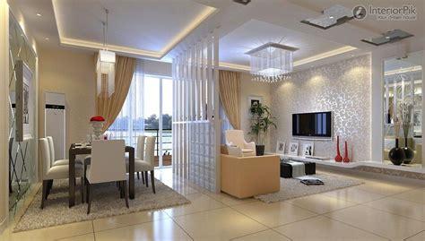 modern room divider  living room  dining