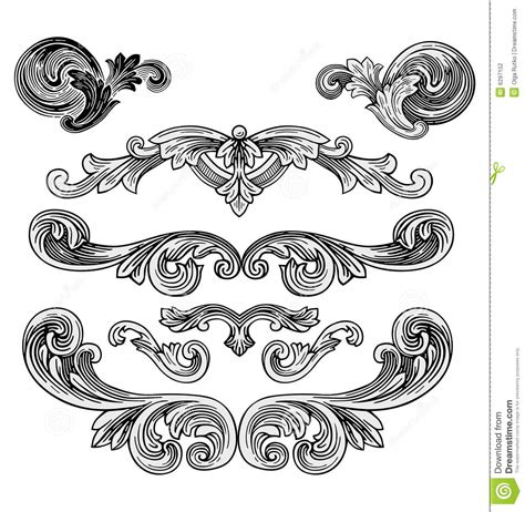 Royal Design Elements Vector | royal design elements vector stock vector image 6297152