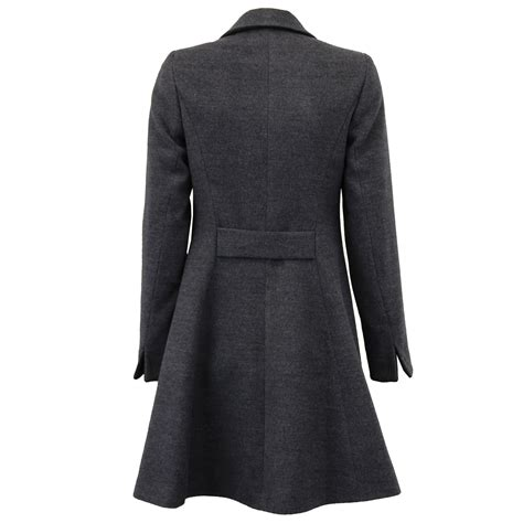 new year wool jacket coat womens jacket wool look button