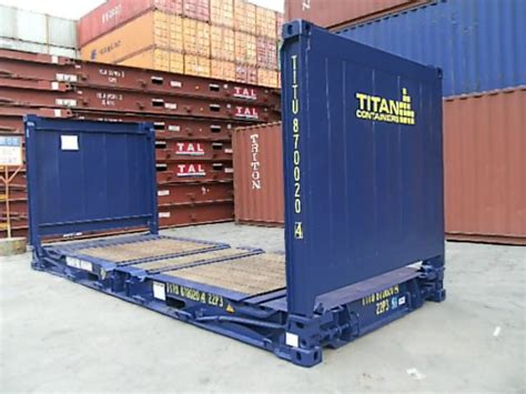 Open Rack Container by Tipos De Contenedores