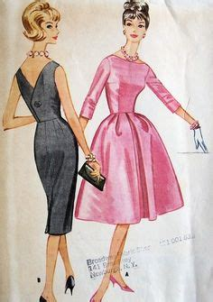 Dress 17803 Lace 1960s mccalls 7052 dress pattern evening gown