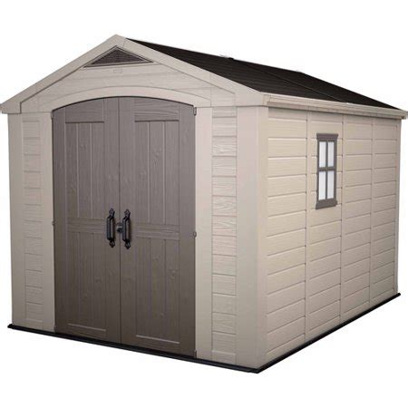 keter factor    resin storage shed  weather