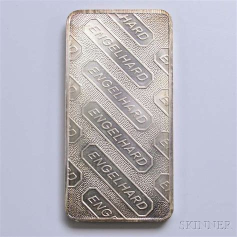 10 troy ounces of silver weight engelhard ten troy ounce silver bar sale number 2982t