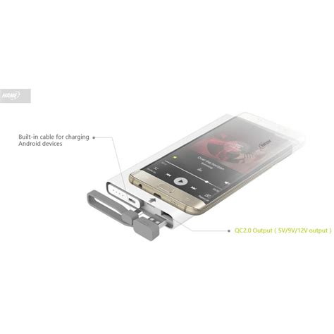 hame qc1 power bank 2 port 10000mah qualcomm charge 2 0 white jakartanotebook
