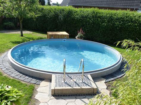 pool deck bauen die besten 25 pool einbauen ideen auf