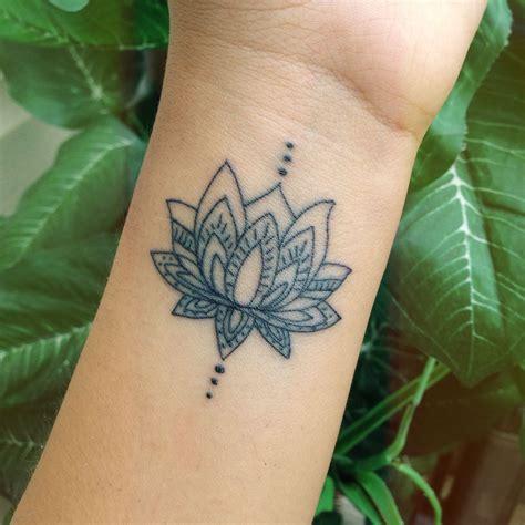 lotus tattoo inspiration 40 awesome wrist tattoo ideas for inspiration lotus