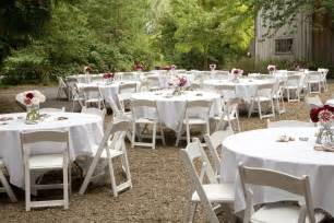 Backyard Wedding Reception Fashion On The Outdoor Wedding Decorations