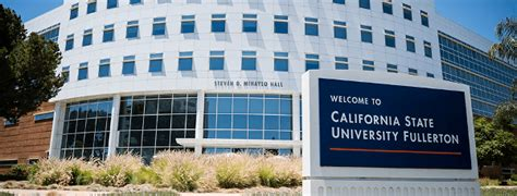 Cal State Fullerton Mba Curriculum by California State Fullerton Csuf Supply