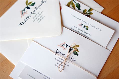 Rifle Paper Co Wedding Invitations