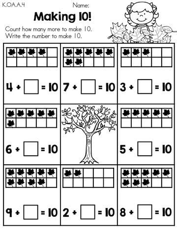 the two count and math worksheets on pinterest