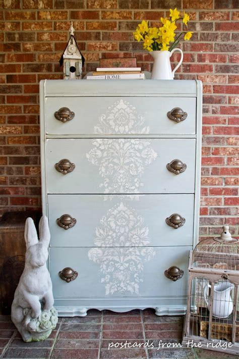 painting furniture ideas 30 painted furniture ideas in blue more refresh restyle