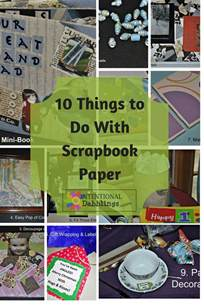 Things To Make With Coloured Paper - 10 things to do with scrapbook paper intentional dabblings