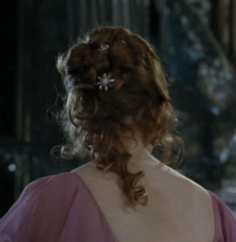 hermione yule ball hairstyle hermione granger yule ball hair hair pinterest