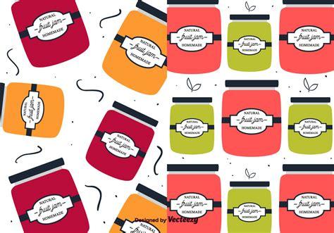 pattern of jam fruit jam pattern vector download free vector art stock
