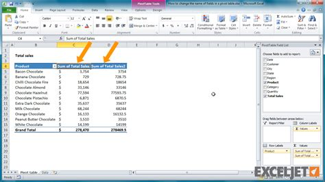 how to add pivot table in excel excel tutorial how to add a field to a pivot table more