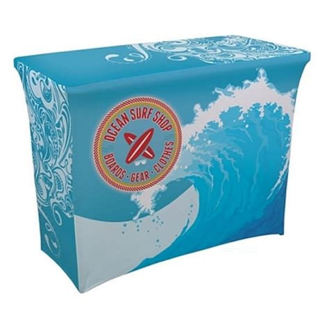 exhibit table covers with logo trade table covers philadelphia california trade