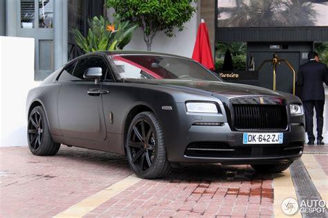 roll royce wraith matte rolls royce wraith 18 may 2015 autogespot