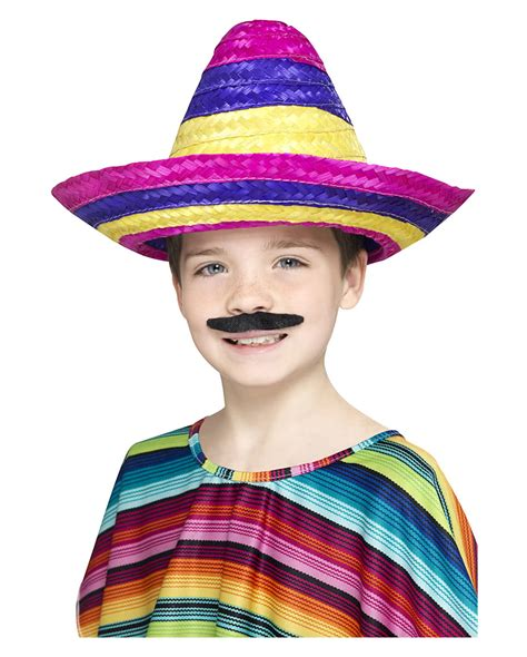 colorful hats colorful children sombrero hat mexican hat for children