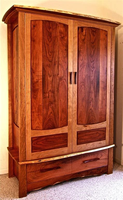 Custom Armoires by Custom Made Mesquite Cherry Armoire By Louis Fry
