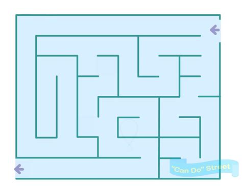 maze template medium mazes for
