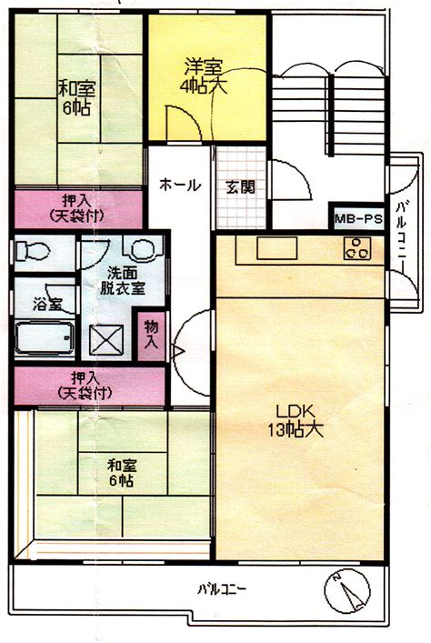 Japanese Apartment Layout by Danchi Housing Lets You Think Outside The Usual Box The