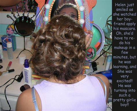 how to do a sissy slaves hair 17 images about tg captions hair and makeup on pinterest