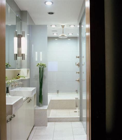 Built In Bathroom Cabinets » Home Design 2017