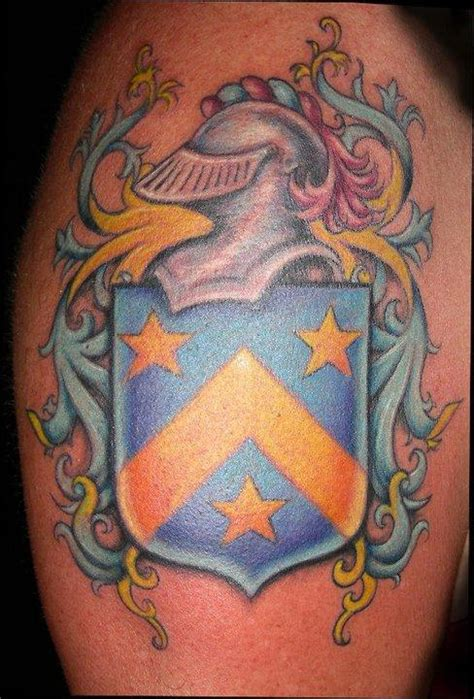 Coat Of Arms Arm By Jessica Brennan Tattoos Family Coat Of Arms Tattoos 2