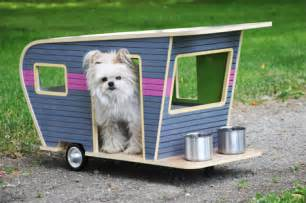 Miniature Dog Campers Retro Glam Camping For Pets