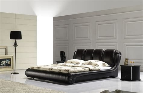 contemporary black bedroom furniture nova domus romeo italian modern black rosegold bedroom