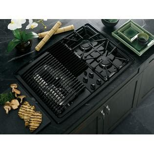 modular gas cooktop ge profile series pgp990denbb 30 quot built in modular gas