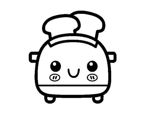 imagenes varias cosas desenho de torradeira de p 227 o de forma para colorir