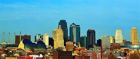 hip suburban white guy kansas city skyline