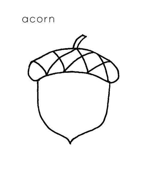 acorn coloring pages acorn leaf coloring pages