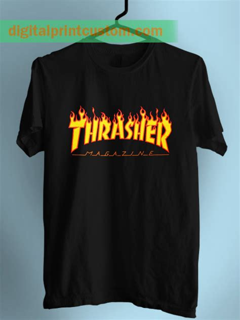T Shirt Thrasher New new thrasher t shirt with logo by digitalprintcustom
