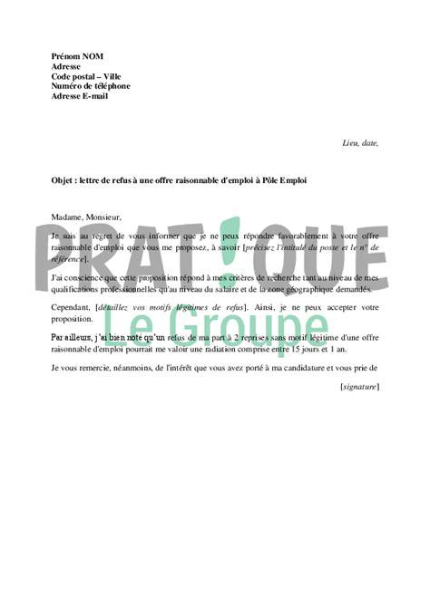 Modification Contrat De Travail Grossesse by Modele De Lettre Pour Accepter Un Poste Contrat De