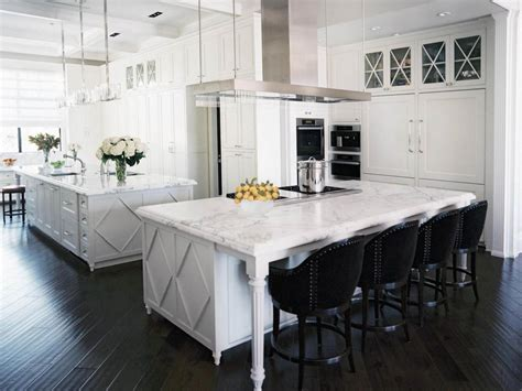 white kitchen island with seating kitchen design styles pictures ideas tips from hgtv hgtv