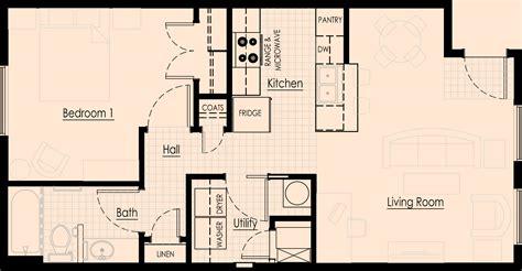 2 bedroom one bath apartment floor plans 100 2 bedroom one bath apartment floor plans